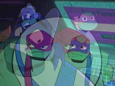 «Rise of the TMNT - S01E10а» (sMUGENom)